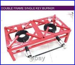 13kw Heavy Duty Double Cast Iron Lpg Gas Boiling Ring Burner Catering Stove