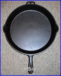 #14 Martin Stove & Range Co. Cast Iron Skillet Hamburger Logo Circa 1920-1950