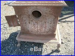 1851 Cast Iron Parlor Stove Warnick & Liebrandt Philadelphia F. Schultz Design