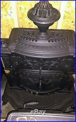 1852 Rhode Island cast iron wood stove