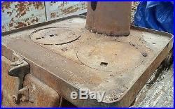 1912 Antique Estate No 249 Railroad Rr Caboose Cast Iron Stove Train Pot Belly