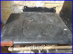 1 Antique (rare) Rochester Iron Stove OLIVE 3 PIECEHeavysorry NO SHIPPING