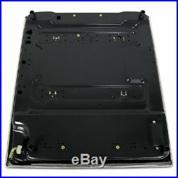 23.2 Built-in Cooktop 4 Burners Stove Natural Gas Hob Cooker Black USA