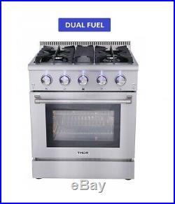 30 Dual Fuel Range Thor Kitchen