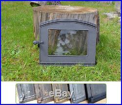 36,5x31cm Cast iron fire door clay / bread oven / pizza stove smoke house DZ015