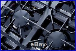 36 Gas Hob Gas Cooktop 6 Burners Stove Kitchen Easy Clean Gas Cooking NG/LPG US