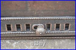 46.7 x 26.8 cm cast iron fire door clay bread oven doors pizza stove smoke house