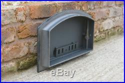 48.5 x 27 cm cast iron fire door clay bread oven doors pizza stove