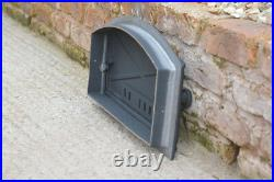 48 x 27 cm cast iron fire door clay bread oven doors pizza stove