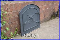 49 x 45 cm cast iron fire door clay / bread oven doors pizza stove fireplace