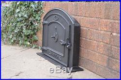 58.5 X 43 Cm Cast Iron Fire Door Clay Bread Oven Doors Pizza Stove Smoke  House