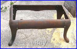 ANTIQUE CAST IRON STOVE BASE WithLEGS 86-18-1 86-18-2 86-18-3 RESTORE OR REPURPOSE