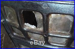 ANTIQUE Cast iron STOVE Spartan 108 PARLOR Style The WEHRLE co. Newark, OH
