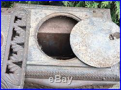 ANTIQUE Victorian CAST IRON American Beauty No 12 GAS Coal Wood STOVE PARLOR