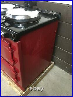Aga 58 Model G All Gas Series Cast Iron No Electrical Required Vented Red