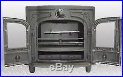 Agatar Multifuel Stove 20B 20 kW Boiler Stove Coal and Woodburner