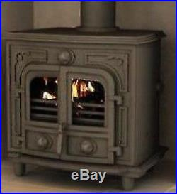 Agatar Multifuel Stove with Boiler 12B 12 kW Coal and Woodburner
