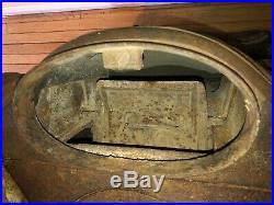 Antique 1900s Cast Iron Parlor Stove ACME SURPRISE -The Wehrle Co MODEL 21