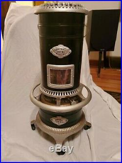 Antique 1905 Barler Ideal No. 4 Cast Iron Frame Kerosene Heater