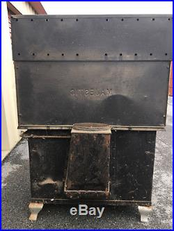 Antique 1906 Great Majestic Cast Iron Wood Stove Complete & Original Condition