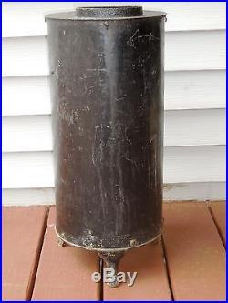Antique B&O Railroad Caboose Coal Stove Cast Iron No. 200 Buddy 22High