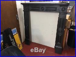 Antique Cast Iron Fire Surround / Stove Surround 4 pieces postable