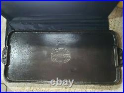Antique Cast Iron Martin Stove & Range Co Large Griddle 9 Flo Alabama