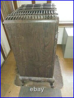Antique Cast Iron Montgomery Ward La Salle Windsor Wood Stove