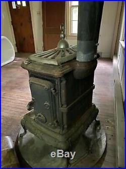 Antique Cast Iron Parlor Stove
