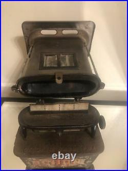 Antique Cast Iron SUMMER GIRL No 1 Kerosene Sad-Iron Heater Camp Stove/Lantern