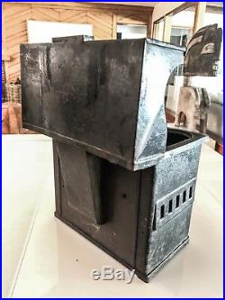 Antique Cast Iron Sample Salesman Stove Oven Garland