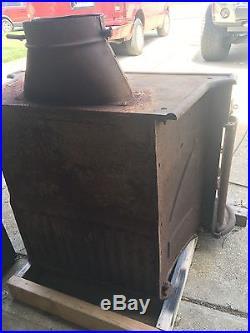 Antique Cast Iron Wood Burning Stove