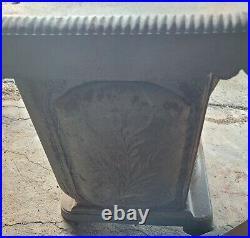 Antique Comfort Wood Burning Stove. Side loading stove RARE
