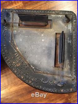 Antique Dietz No 2 Cast Iron Fireplace Parlor Kerosene Heater Stove