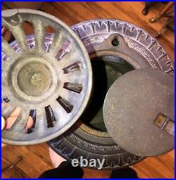 Antique FLIRT NO. 9 PARLOR STOVE c1880 UNION STOVE WORKS NY CAST IRON BEAUTY RARE