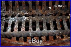 Antique Fire Cast Iron Wood Burning Stove