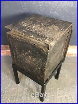 Antique Georgian Cast Iron Bread Oven / Stove / Range D. Evans Llysfaen House