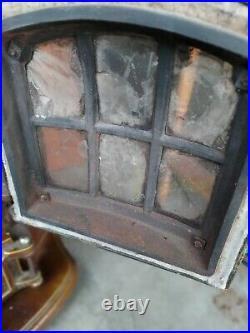 Antique Godin Cast Iron Wood Stove