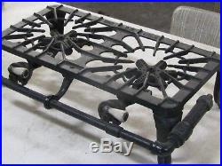 Antique Griswold Cast Iron #32 2 Burner Gas/propane Stove