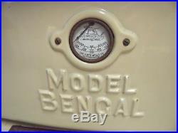 Antique Ideal Bengal Cast Iron Cook Stove Range Floyd Wells Wood Coal Porcelain