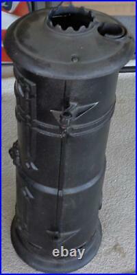 Antique Lion Cast Iron Water Heater Casing 1907-1916 Type F-14 VGC WOW