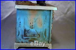 Antique Novelty Salesman Sample Stove Miniature Cast Iron Wood/Coal c1900