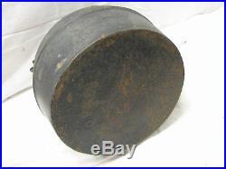 Antique O & P Cast Iron Tea Kettle Pot Teapot Stove No. 7 Lidded Reading PA