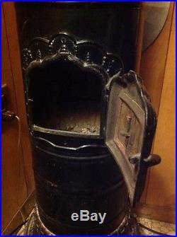 Antique Parlor Stove Cast Iron