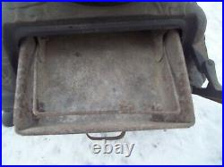 Antique Penninsular Potbelly Parlor wood stove