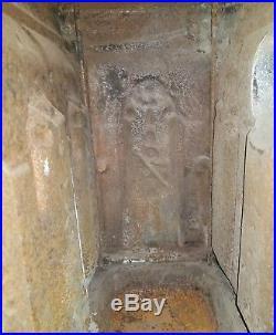 Antique Rathbone & Co No 2 Cast Iron Parlor Wood Stove Pat 1847 Albany NY