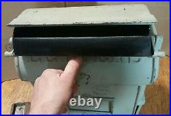 Antique Reading Stove Works PA Cast Iron US Postal Mailbox Post Office Letters