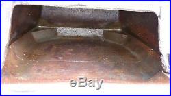 Antique Small Cast Iron Atlanta Stove Works Pot Belly #60 Coal Wood Stove