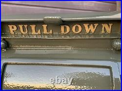 Antique US Postal Mailbox, Cast Iron, Danville PA Stove & MFC CO, 1927 WITH KEY