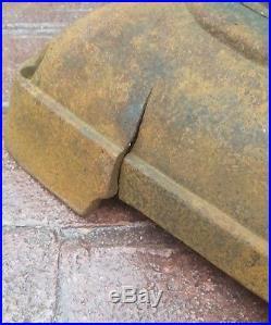 Antique Union Stove Works No. 29 Union Caboose CAST IRON PotBelly Stove